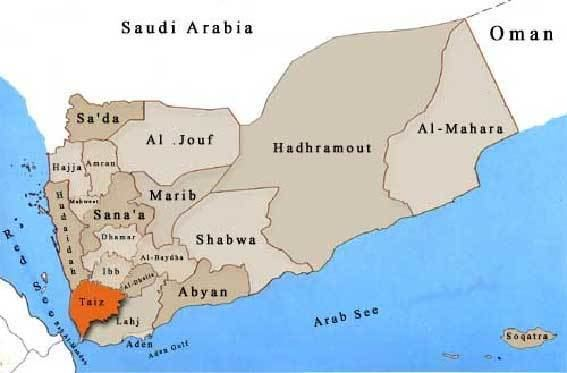 Taiz in the past, History of Taiz