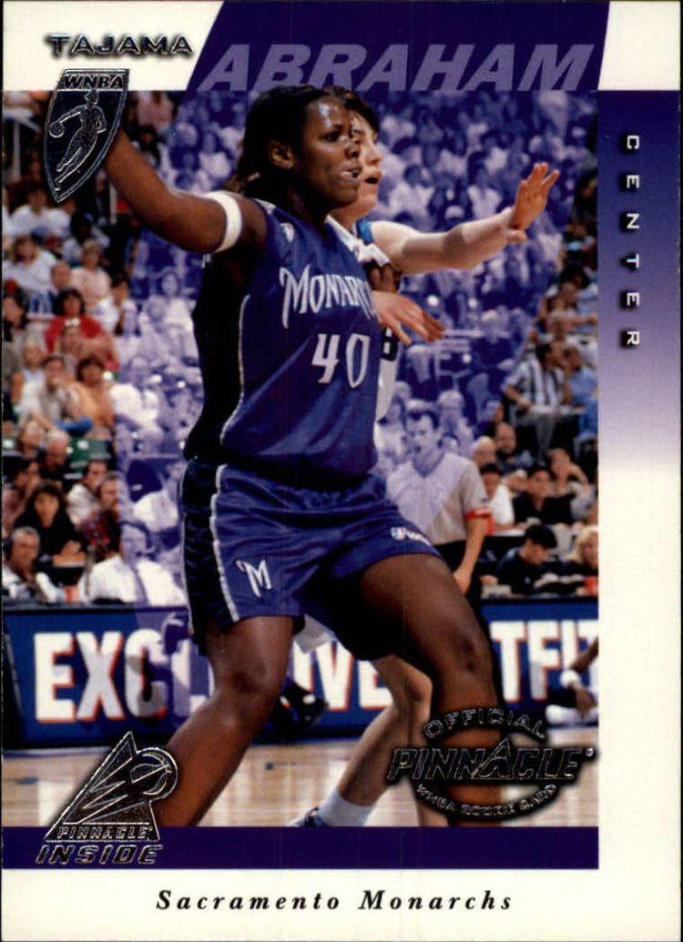 Tajama Abraham 1997 Pinnacle Inside WNBA 17 Tajama Abraham RC NMMT