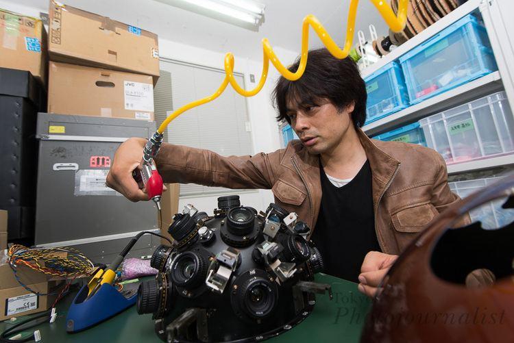 Takayuki Ohira Takayuki Ohira creator of the Megastar planetarium
