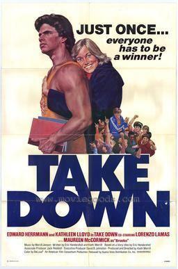 Take Down (film) movie poster