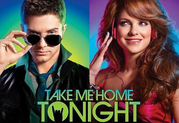 Take Me Home Tonight (film) movie scenes The music video features the cast of Take Me Home Tonight recreating classic 80 s scenes and characters that made this decade totally awesome and