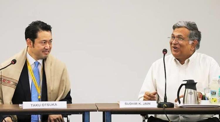 Taku Otsuka Japanese State Minister of Finance Taku Otsuka visits IIT