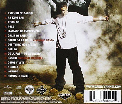 Talento de Barrio Daddy Yankee Talento De Barrio Amazoncom Music