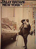Tally Brown, New York movie poster
