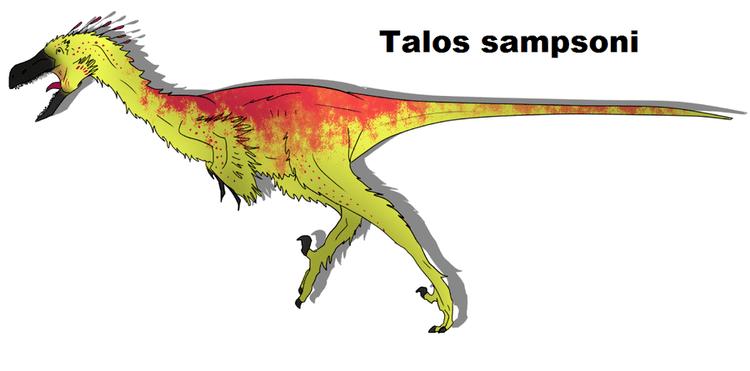 Talos (dinosaur) Talos sampsoni by ToxicKittyCat on DeviantArt