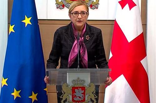Tamar Beruchashvili CivilGe Beruchashvili Appointed as New Foreign Minister