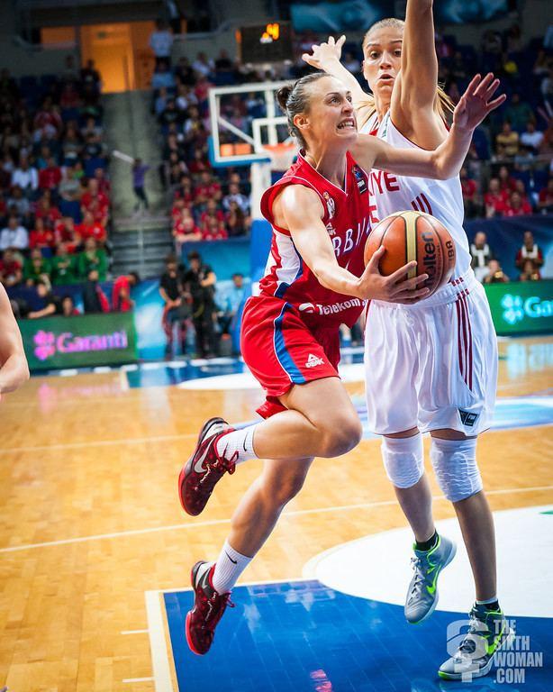 Tamara Radočaj Quarterfinals Turkey Serbia thesixthwoman