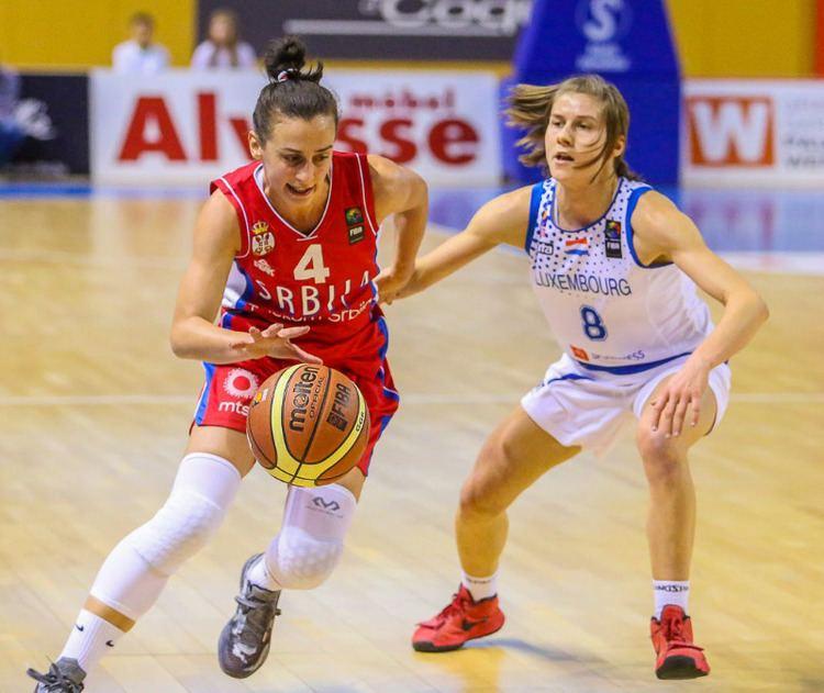 Tamara Radočaj Tamara Radocaj EuroCup Women 2015 FIBA Europe