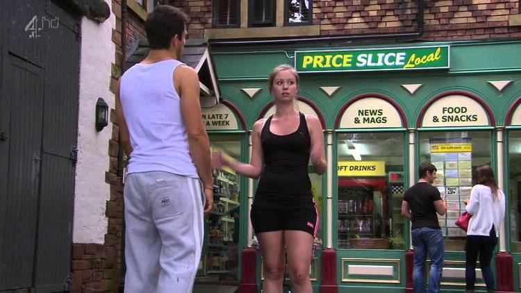 Tamaryn Payne Tamaryn Payne Running Hollyoaks HD 15 08 12 YouTube