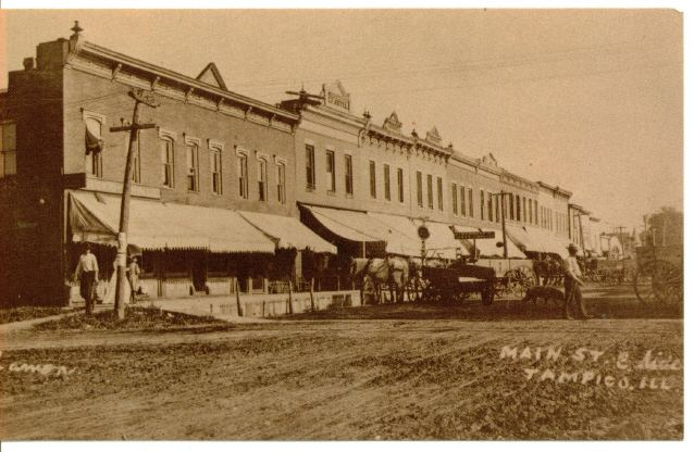 Tampico in the past, History of Tampico