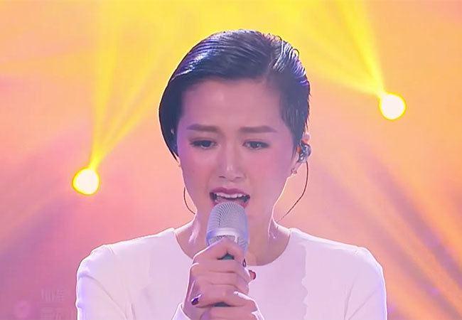Tan Weiwei I Am A Singer 3 Round 6 Leo Ku out challenger Sitar