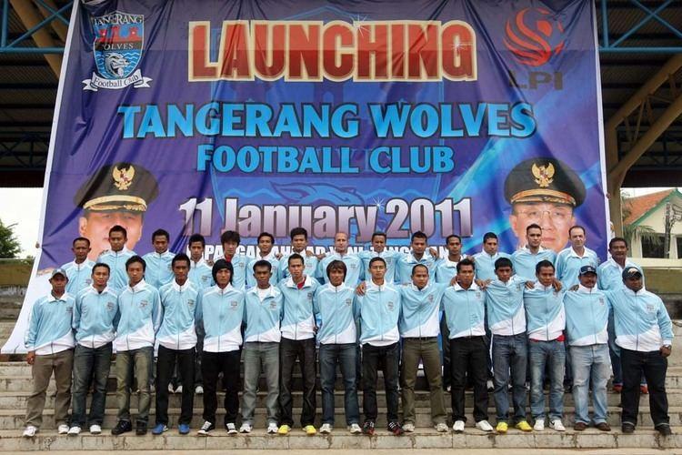 Tangerang Wolves F.C. Liga Primer Indonesia terompahku
