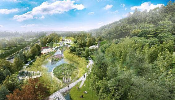 Tangshan Beautiful Landscapes of Tangshan