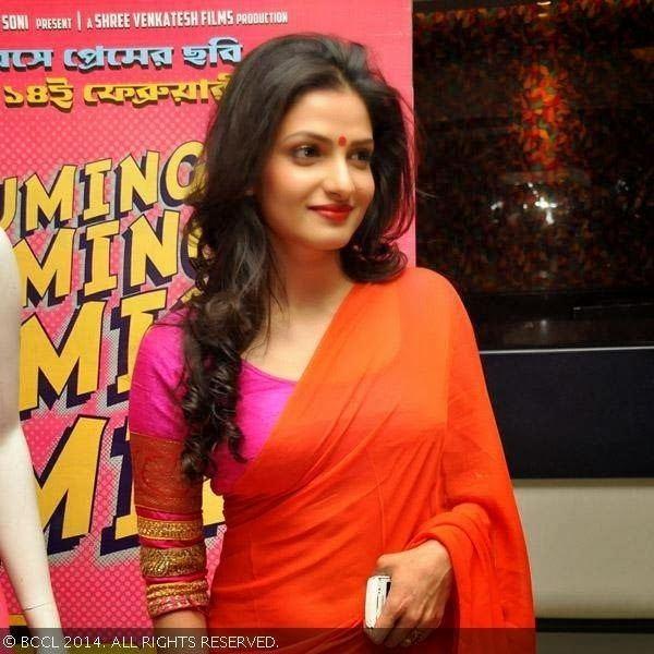 Tanusree Chakraborty Tanusree Chakraborty in Saree Veethi