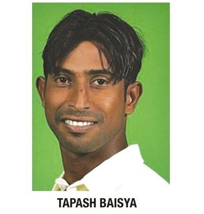 Tapash Baisya (Cricketer) in the past