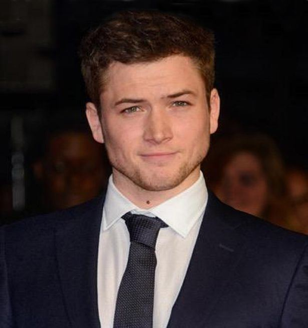 Taron Egerton A star is born39 Welsh actor Taron Egerton receives the