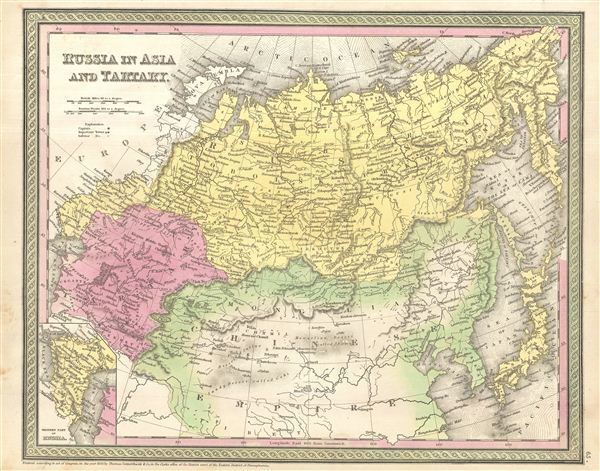 Tartary Russia in Asia and Tartary Geographicus Rare Antique Maps