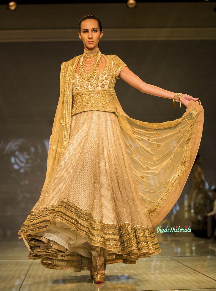Tarun Tahiliani Tarun Tahiliani at India Bridal Fashion Week 2014