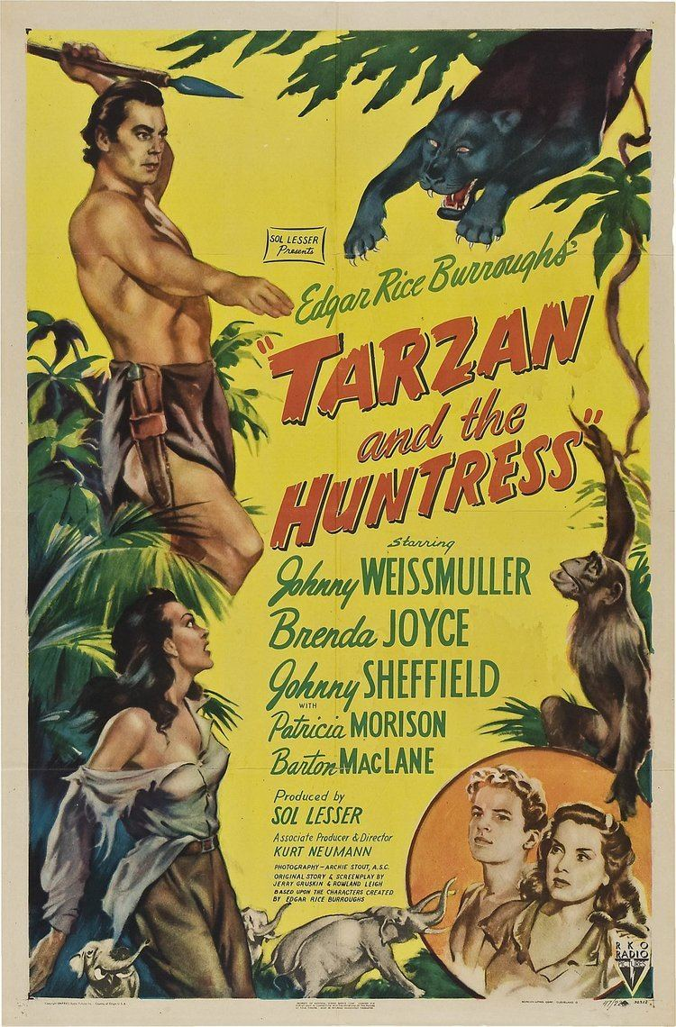 Tarzan and the Huntress ERBzine 0627 Tarzan and the Huntress