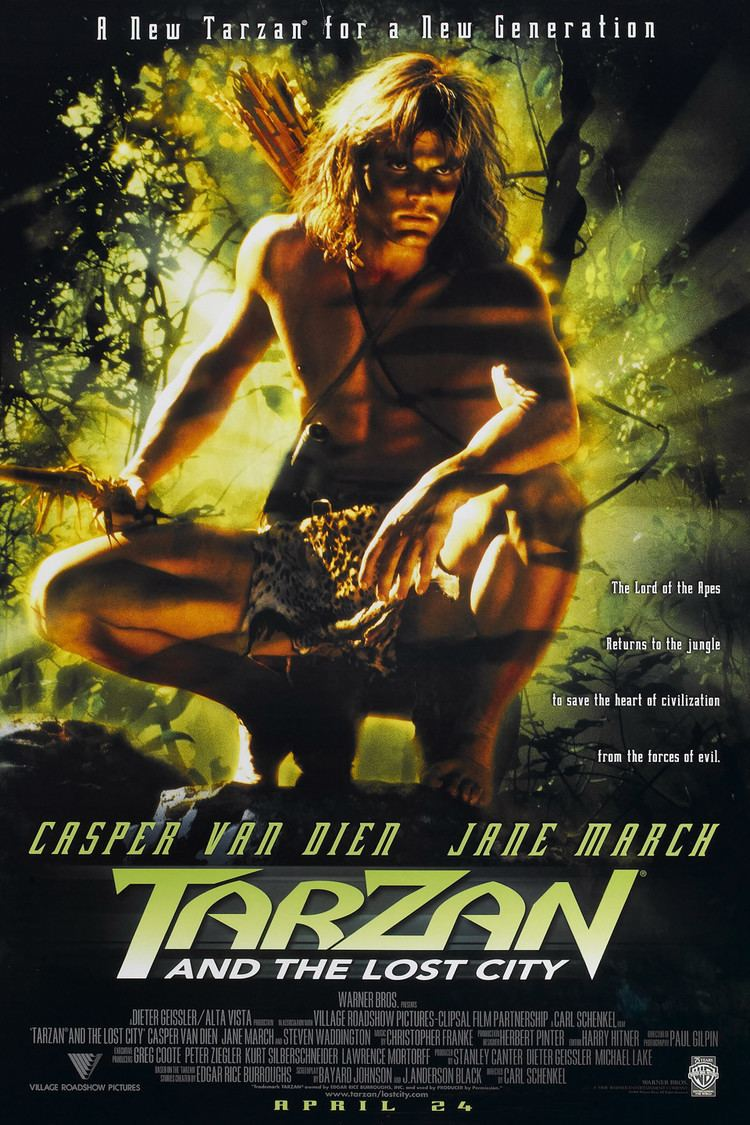 Tarzan and the Lost City (film) wwwgstaticcomtvthumbmovieposters20977p20977