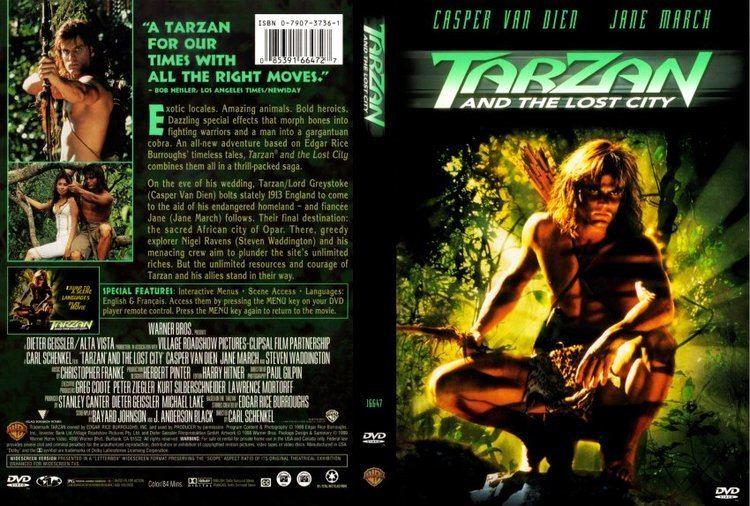 Tarzan and the Lost City (film) Tarzan and the Lost City Film Casper Van Diem at least had a
