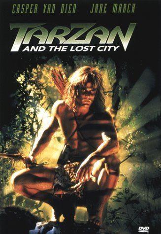 Tarzan and the Lost City (film) Amazoncom Tarzan and the Lost City Casper Van Dien Jane March