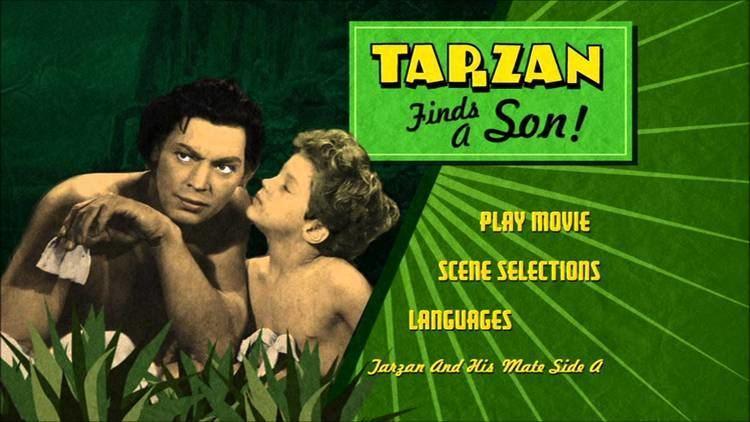 Tarzan Finds a Son! Tarzan Finds A Son UK DVD Menu YouTube