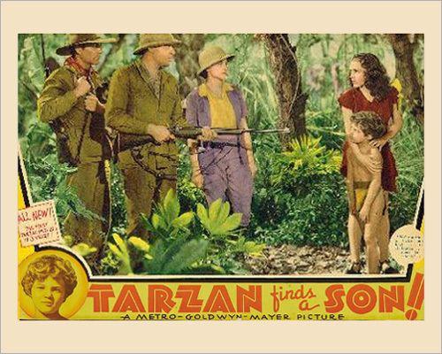 Tarzan Finds a Son! Tarzan Finds a Son 1939 lobby cards