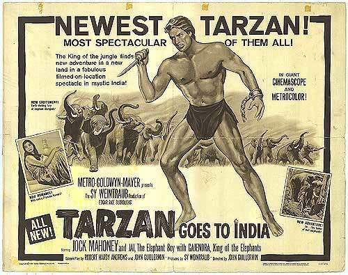 Tarzan Goes to India Tarzan Goes To India movie posters at movie poster warehouse