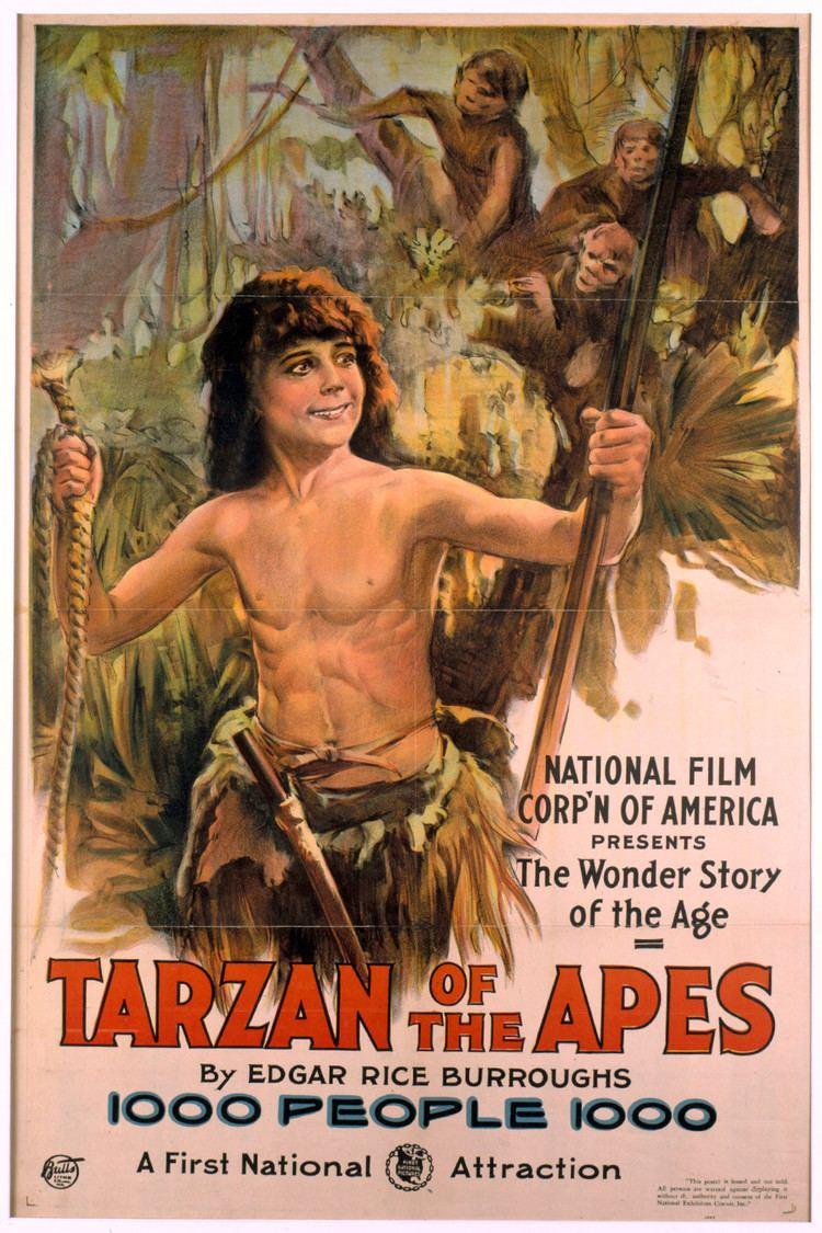 Tarzan of the Apes (1918 film) wwwgstaticcomtvthumbmovieposters8898p8898p