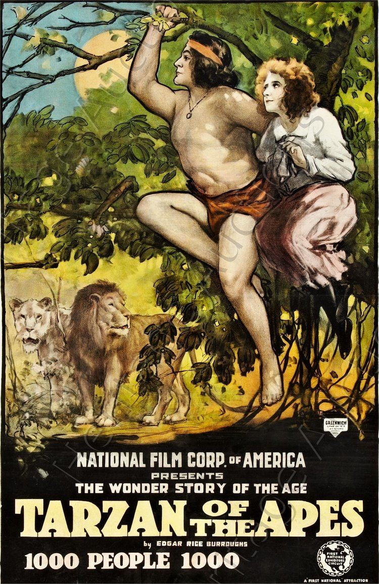 Tarzan of the Apes (1918 film) ERBzine 0503 Tarzan of the Apes