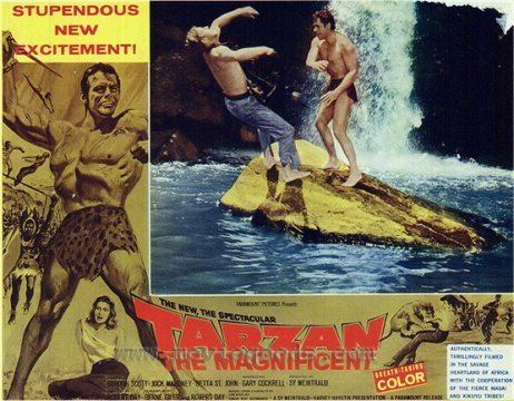 Tarzan the Magnificent ERBzine 1958 Tarzan the Magnificent