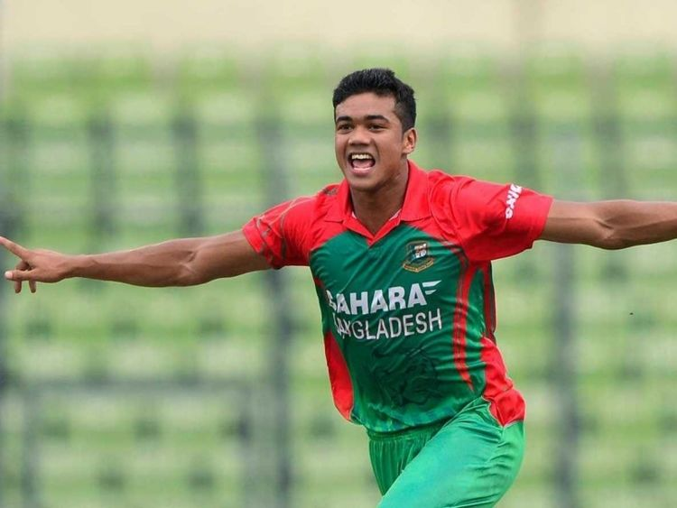 Taskin Ahmed the Only Positive for Bangladesh in Series Defeat to