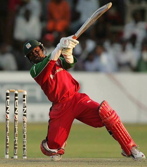 Tatenda Taibu (Cricketer) playing cricket