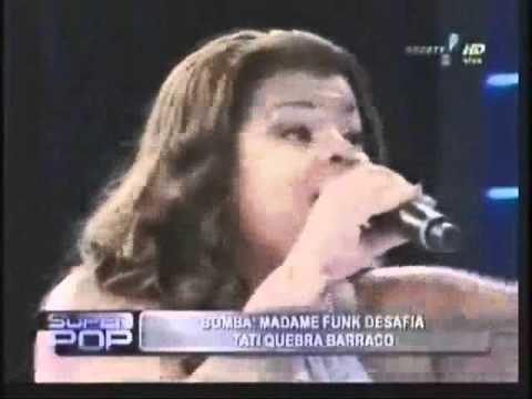 Tati Quebra-Barraco A elegncia e finesse de Tati QuebraBarraco no Superpop YouTube