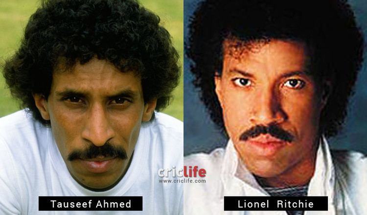 Tauseef Ahmed and Lionel Richie Cricket Country
