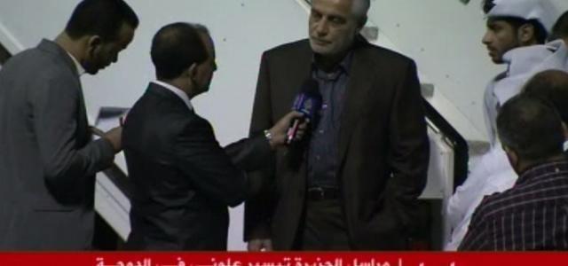 Tayseer Allouni Al Jazeera journalist Tayseer Allouni is free DOHA CENTRE FOR