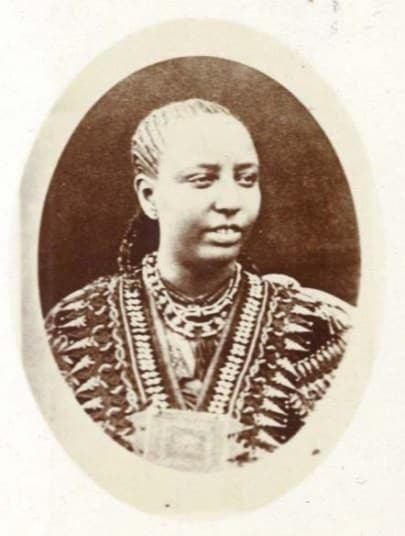 Taytu Betul Ethiopia the early travel photographs of Captain Speedy