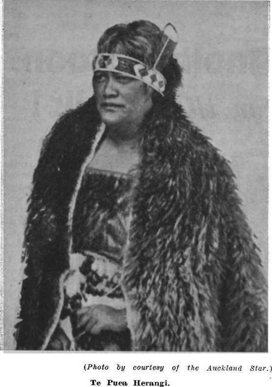 Te Puea Herangi Famous New Zealanders No 42 Te Puea Herangi Princess