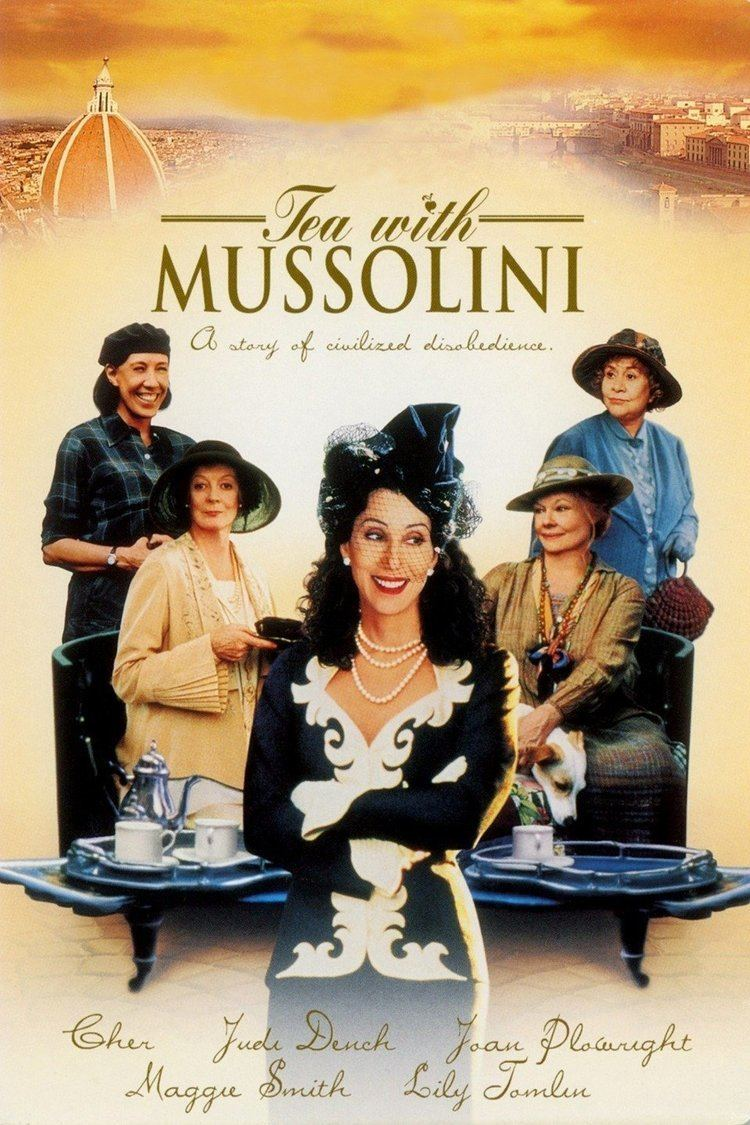 Tea with Mussolini wwwgstaticcomtvthumbmovieposters22864p22864