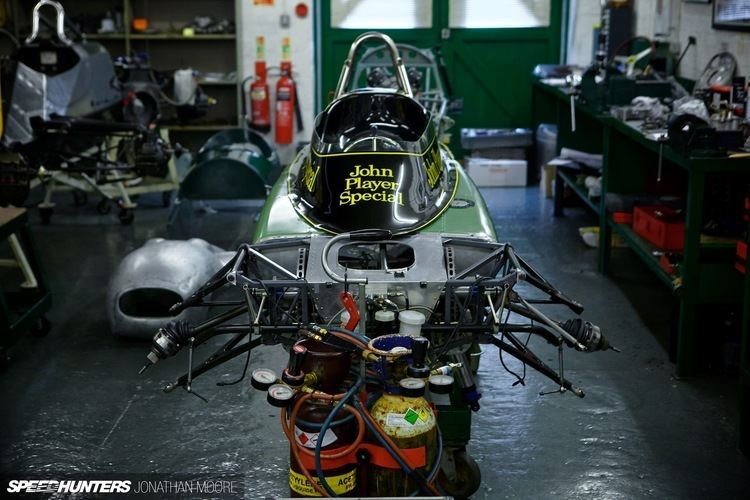 Team Lotus The Real Deal Stripped Down At Classic Team Lotus Speedhunters