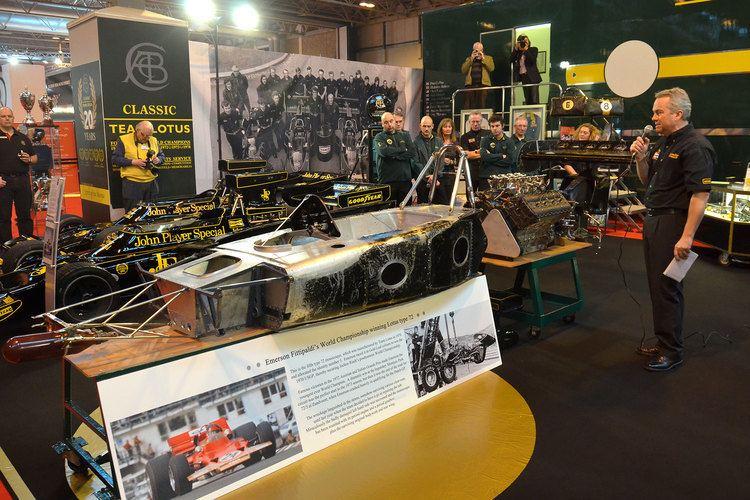 Team Lotus NEWS Headlines Classic Team Lotus