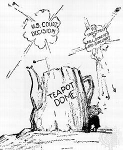 Teapot Dome scandal Teapot Dome Scandal United States history Britannicacom