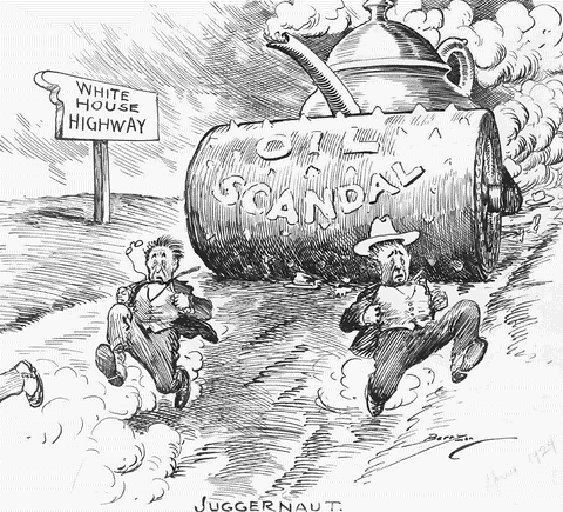 Teapot Dome scandal Oil Stories and Histories Scandal A Short History of the Teapot