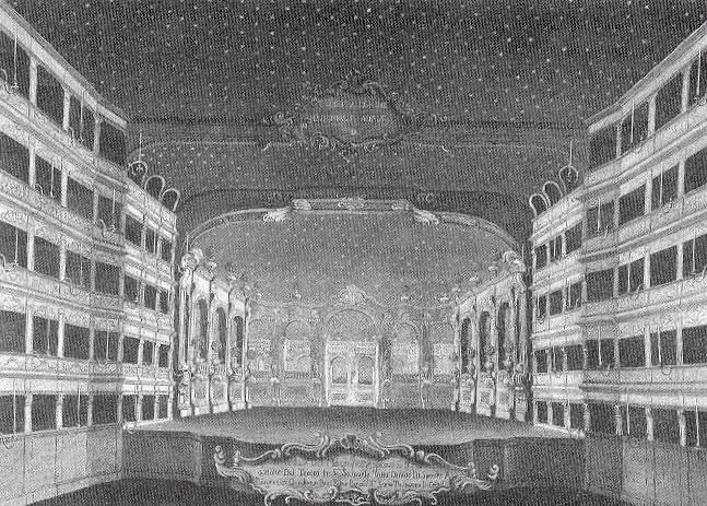 Teatro San Cassiano FROM THE COURT THEATRE TO THE PUBLIC THEATRE