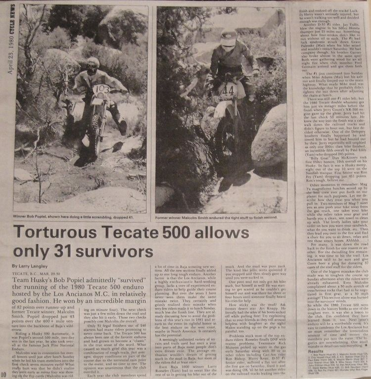 Tecate in the past, History of Tecate
