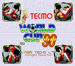 Tecmo World Cup '90 img2gameoldiescomsitesdefaultfilestitlesco