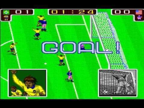 Tecmo World Cup '90 Tecmo World Cup 90 Classic Arcade YouTube