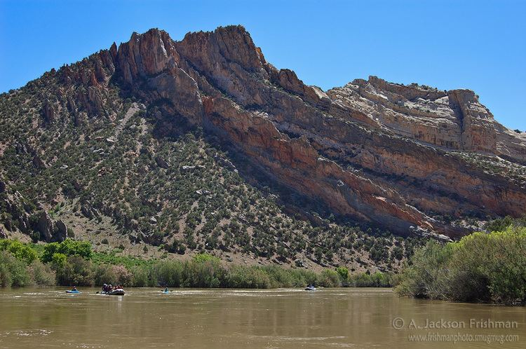 Tectonic uplift Geology of Dinosaur National Monument Crest Cliff amp Canyon