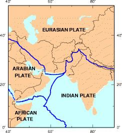 Tectonics zones of Pakistan